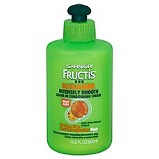 image of Garnier® Fructis® 10.2 oz. Sleek and Shine Intensely Smooth Leave-In Conditioning Cream