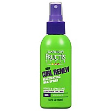 image of Garnier® Fructis® Curl Renew 5 oz. Reactivating Milk Spray with Coconut Oil