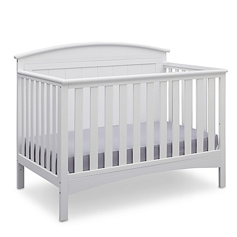 Deltatrade Children Archer 4 In 1 Convertible Crib Bianca