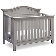 image of Serta® Bethpage 4-in-1 Convertible Crib in Grey