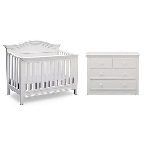 Serta Reg Bethpage Nursery Furniture Collection In Bianca