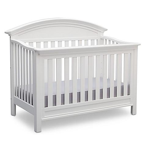 Serta 174 Aberdeen 4 In 1 Convertible Crib In Bianca Buybuy Baby
