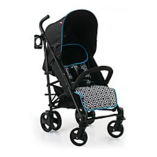 image of Jonathan Adler® Crafted by Fisher-Price® Deluxe Umbrella Stroller in Black/White