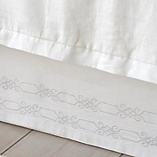 image of Dena™ Atelier Somerset Bed Skirt in White