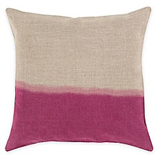 image of Surya Roxbury Dual-Tone Square Throw Pillow