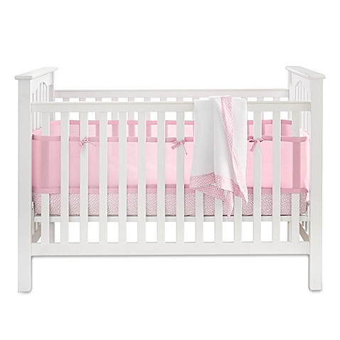 BreathableBaby 3-Piece Bedding Set in Pink