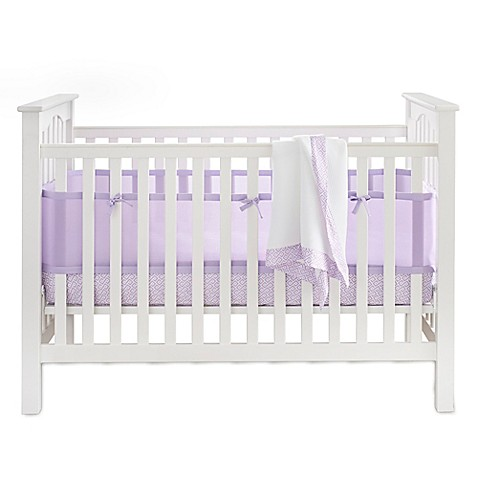 BreathableBaby 3-Piece Bedding Set in Lavender