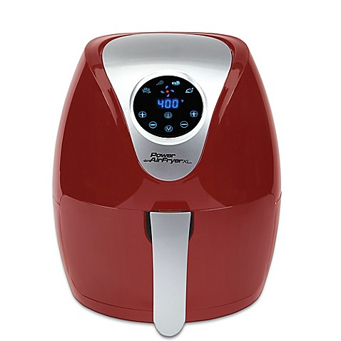 2.4 qt. Power Air Fryer XL in Red