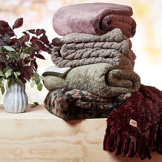 UGG® Faux Fur Throw Blanket $44.99