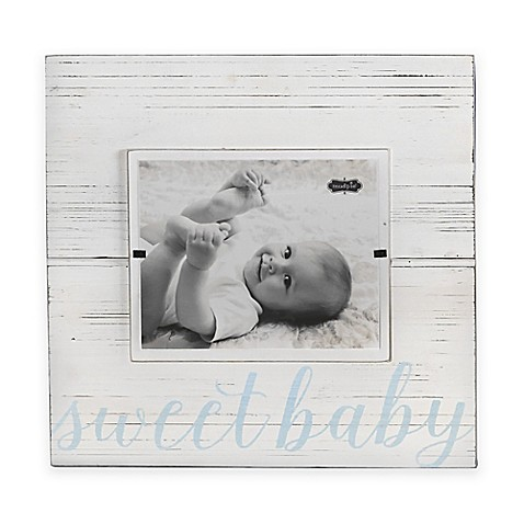 Mud Pie Sweet Baby 8-Inch x 10-Inch Wood Picture Frame - buybuy BABY
