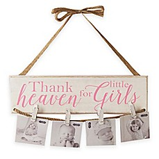 image of Mud Pie Little Girls Hanging Photo Holder