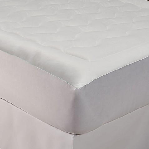 perfect fit® tempacool™ mattress pad - bed bath & beyond