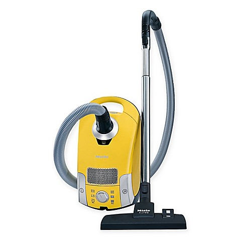 Miele compact c1 celebration canister vacuum in yellow for Miele compact