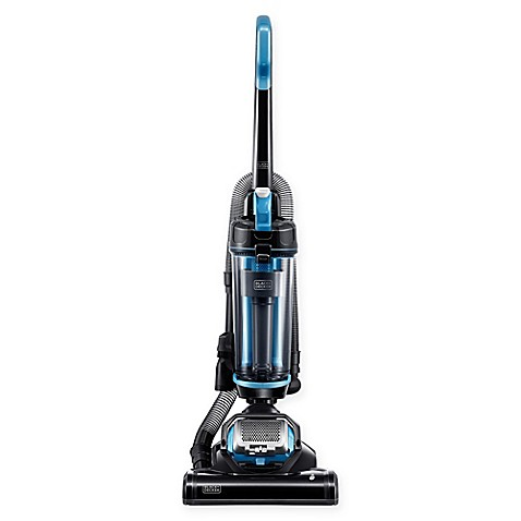 Black Amp Decker Airswivel Lite Upright Vacuum Cleaner In