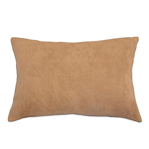 PUR Cashmere Soft Brushed Viscose from Bamboo Oblong Lumbar Pillow
