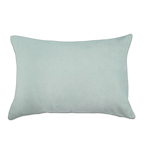 Buy pur cashmere soft brushed viscose from bamboo oblong for Bamboo pillow bed bath and beyond