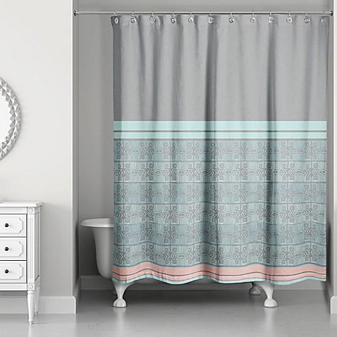 Pastel Boho Tribal Shower Curtain Bed Bath Beyond