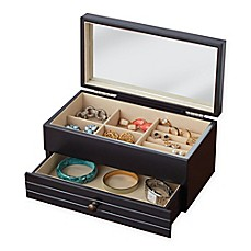 image of Harper Jewelry Box in Black