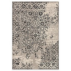 image of Loloi Rugs Emory Distressed Damask Area Rug