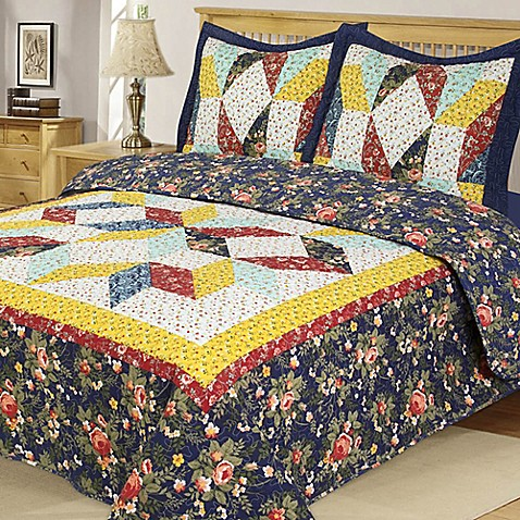 country bed sets country reversible quilt set bed bath amp beyond 11302