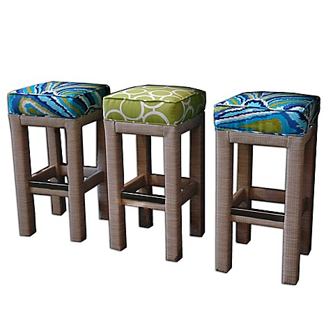 Somers Furniture Santa Barbara Birchwood Backless Barstool Bed Bath Beyond