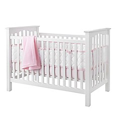 image of BreathableBaby® Ultra Luxe 5-Piece Bedding Set in Pink