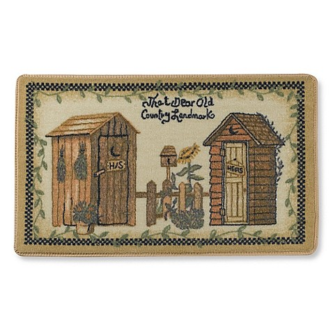 Avanti Outhouses Bath Rug Bed Bath Beyond
