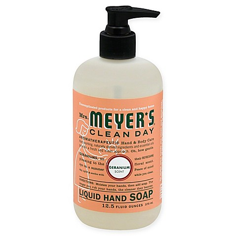 Mrs Meyer S 174 Clean Day Aromatherapeutic Geranium 12 5