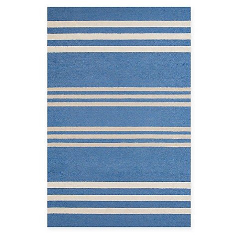 Buy panama jack parallel 8 foot x 10 foot indoor outdoor area rug in blue from bed bath beyond - Tips to consider when buying an outdoor rug ...