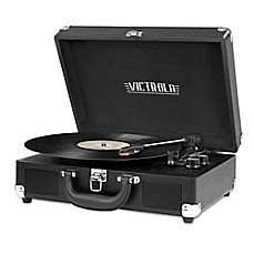 Victrola™ 3-Speed Bluetooth® Portable Suitcase Turntable Image