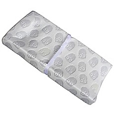 image of Colgate Mattress 3-Sided Owlet Cloth Contour Changing Pad in White