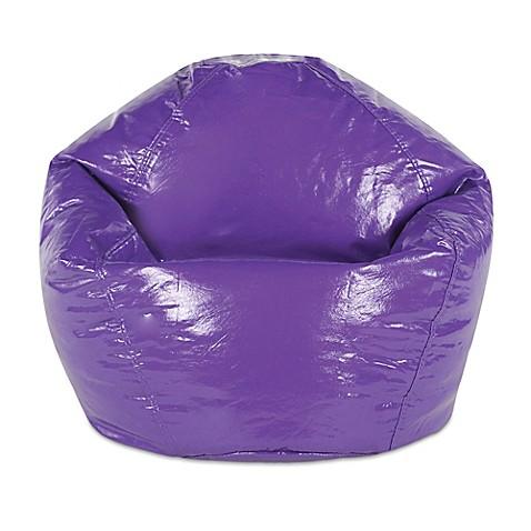 Junior Wetlook Vinyl Bean Bag Chair Bed Bath Amp Beyond