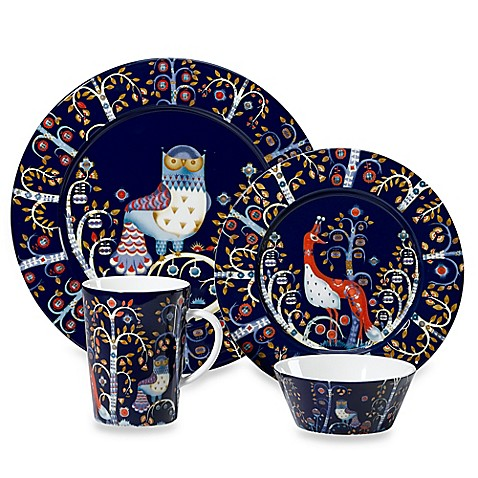 Iittala Taika Dinnerware Collection in Blue  sc 1 st  Bed Bath u0026 Beyond & Iittala Taika Dinnerware Collection in Blue - Bed Bath u0026 Beyond