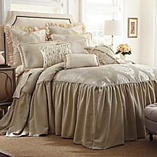 Beautiful Image Of Austin Horn Classics Jacqueline Bedspread In Cream