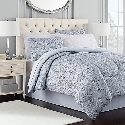 Royal ascot comforter set in blue bed bath beyond - Bed bath and beyond bedroom furniture ...