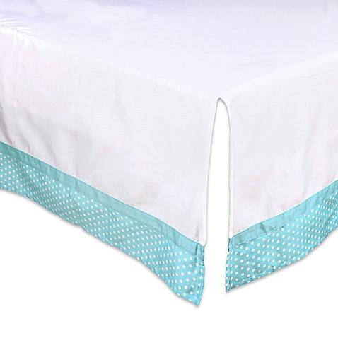 Dot Crib Skirt 18
