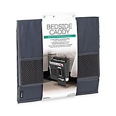 image of Mindfull Products Bedside Caddy in Grey