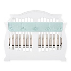 image of Babee Talk® Eco-Teether® Long Crib Rail Cover in Aqua