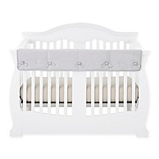 image of Babee Talk® Eco-Teether® Long Crib Rail Cover in Grey