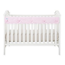 image of Babee Talk® Eco-Teether® Short Crib Rail Cover in Pink