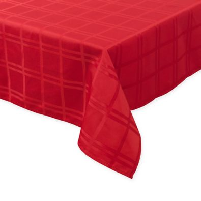 Origins Holiday Tablecloth in Red - Bed Bath & Beyond
