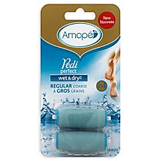 image of Amopé 2-Count Pedi Perfect™ Wet & Dry™ Roller Head Refills