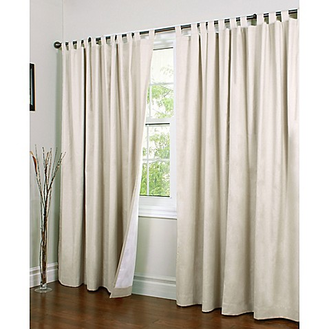 Buy Thermalogic Weathermate 84 Inch Double Wide Tab Top Window Curtain Panel Pair In Natural