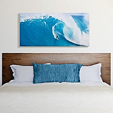 image of Large Canvas Wave Surfer Wall Art