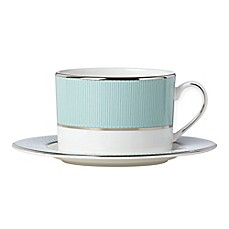 image of Brian Gluckstein by Lenox® Clara™Aqua Cup and Saucer