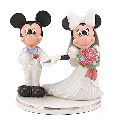 mickey minnie wedding cake topper 2 buy lenox 174 disney mickey amp minnie wedding cake topper from 17353
