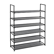 image of Studio 3B™ 6-Tier Fabric Shoe Rack