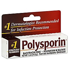 image of Polysporin® .5 oz. First Aid Antibiotic Ointment
