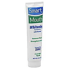 image of Smart Mouth® 6 oz. Whitening Toothpaste with Fluoride in Fresh Mint