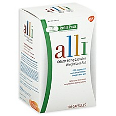image of alli® Weight Loss Aid Orlistat 60 mg Capsules 120-Count Refill Pack